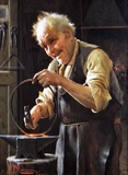 The Cheerful Blacksmith