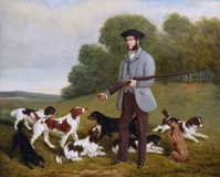 Gamekeeper and Dogs